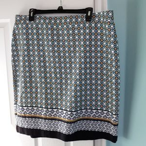 NWT Pencil Print Skirt